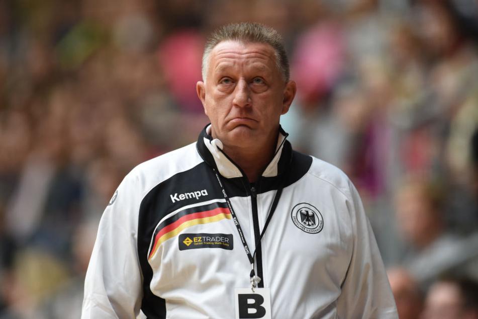 Aktuell coacht Michael Biegler noch die deutsche Handball-Frauen-Nationalmannschaft. Ab 1. Januar 2018 sollte er dann bei Bundesligist DHfK übernehmen. Platzt diese Konstellation nun?