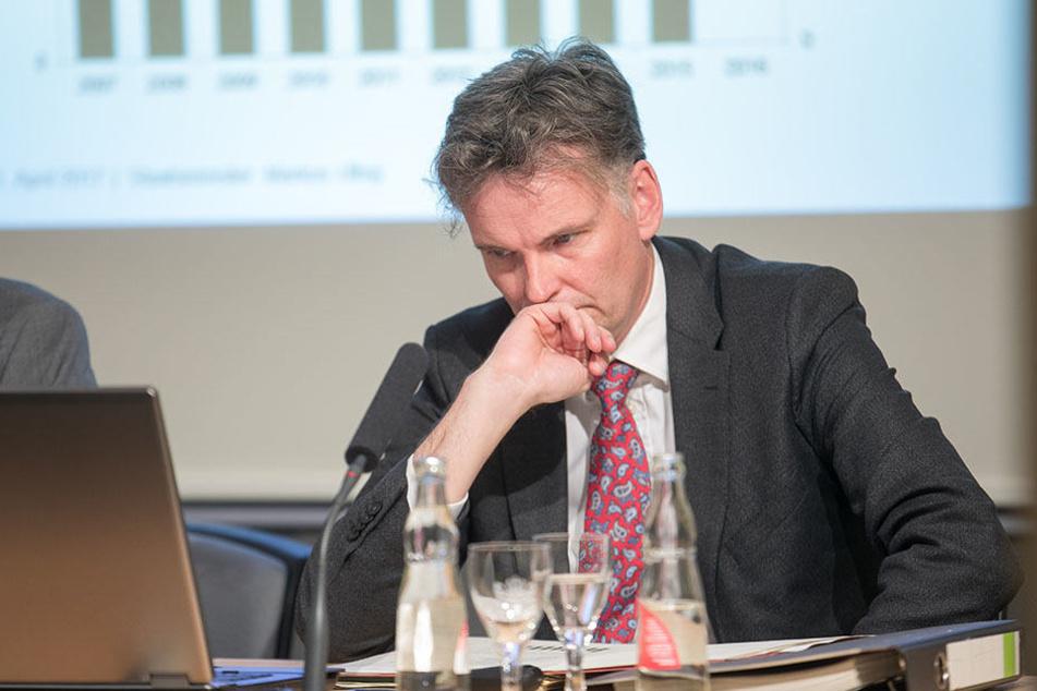 Sachsens Verfassungsschutz-Chef Gordian Meyer-Plath hat Probleme, seine Stellen zu besetzen.