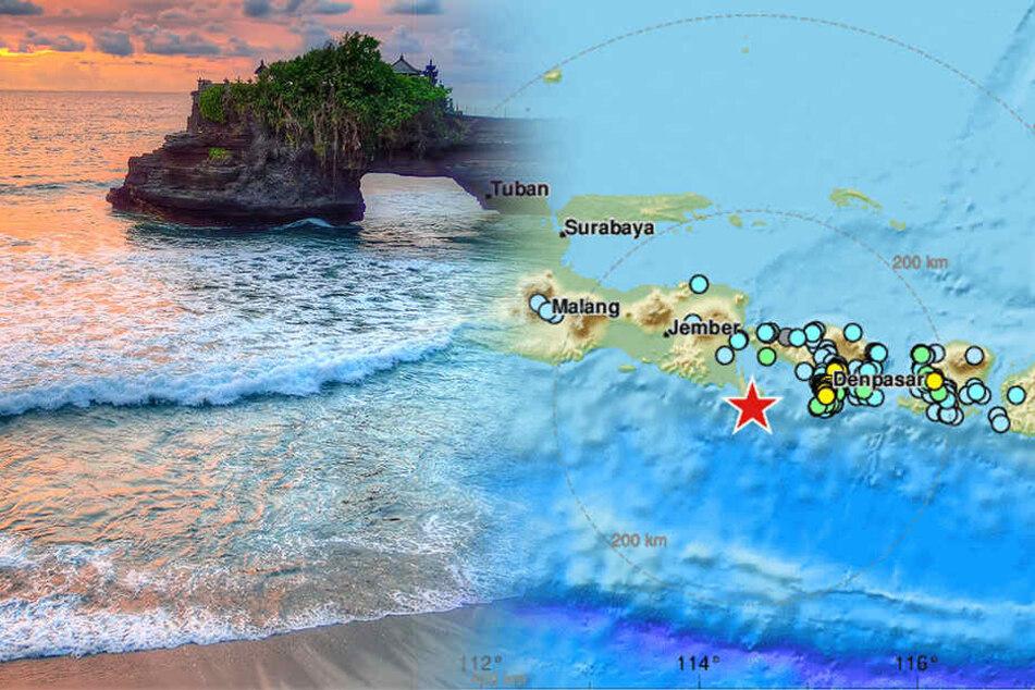 Touristen in Panik: Erdbeben erschüttert Urlaubsinsel