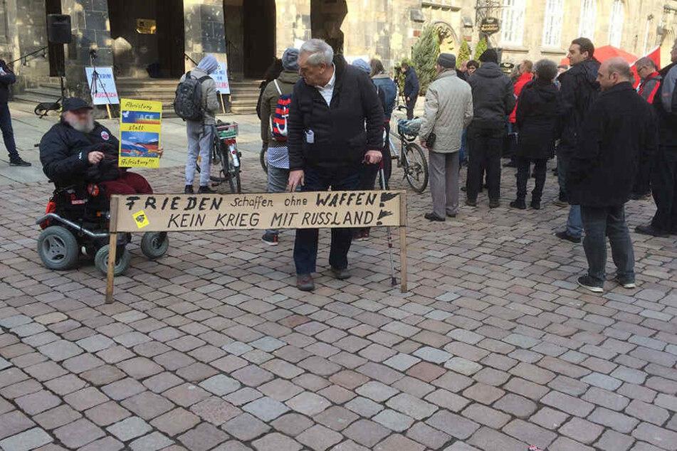CEGIDA unter Linken sorgt für Unfrieden am Friedenstag