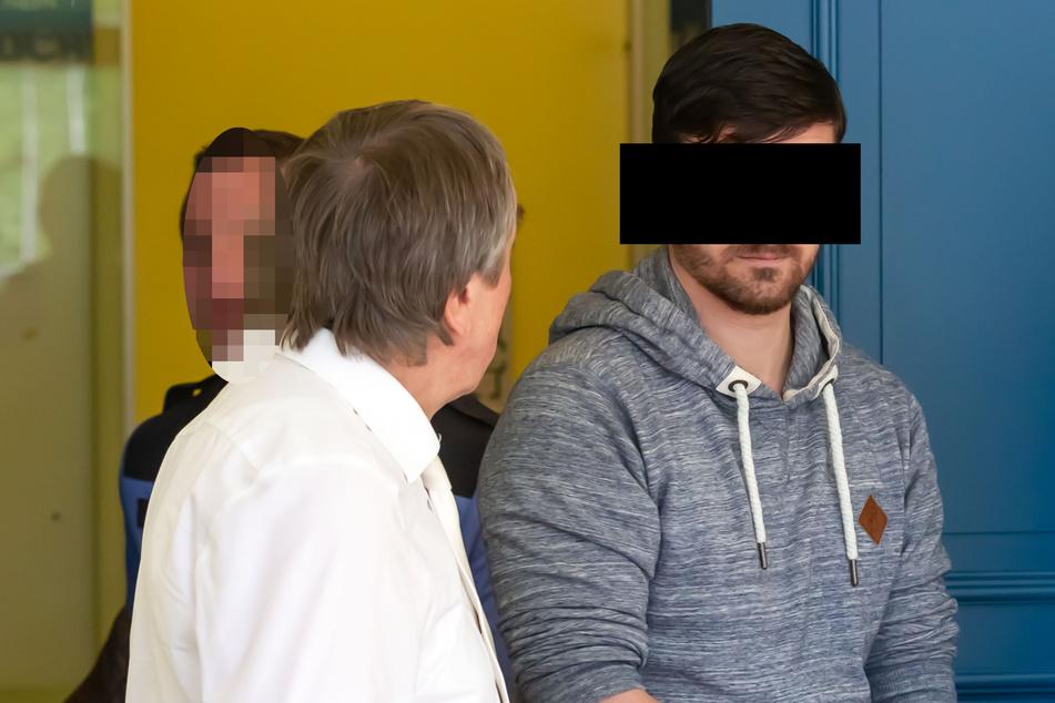 Eine andere Kammer des Landgerichts Zwickau verurteilte Hardy G. (32) zu drei Jahren Haft.