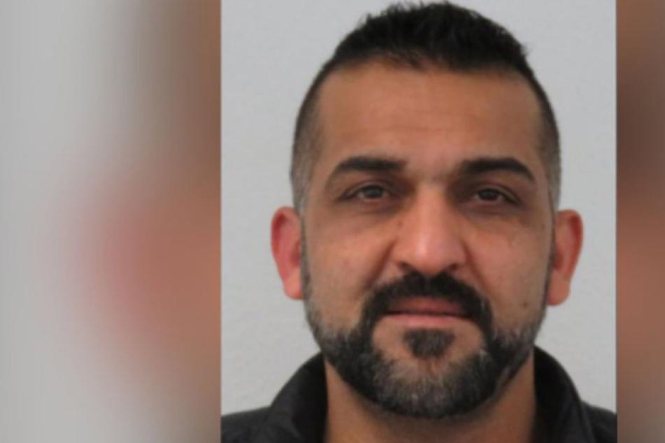 Die Polizei fahndet nach dem 38-jährigen Abdul Aziz Ali.