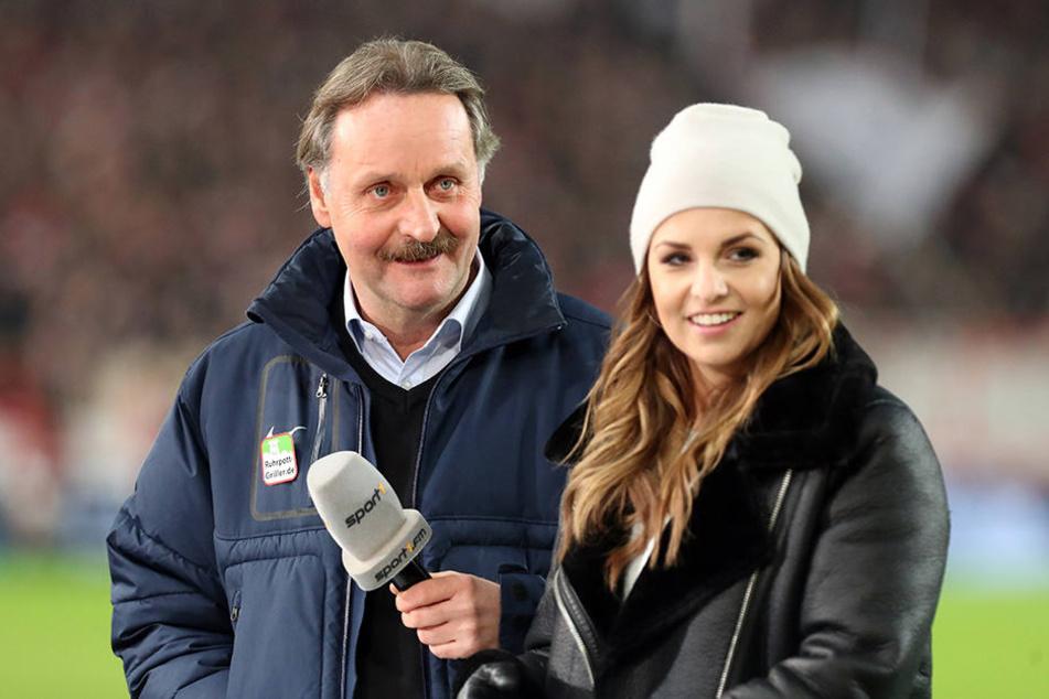 Peter Neururer ist als TV-Experte bei Sport1 neben Laura Wontorra für die 2. Bundesliga aktiv.