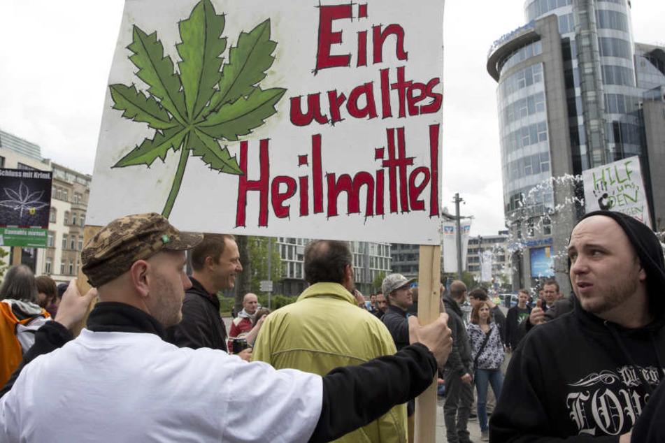 Der Bundestag will heute Cannabis für Schwerkranke auf Rezept freigeben.