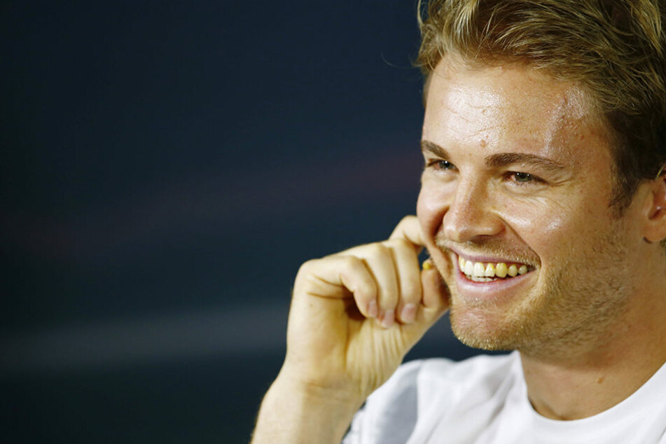 Nico Rosberg hat gut Lachen. Er hat sehr gute Chancen seinen ersten WM-Titel zu holen.