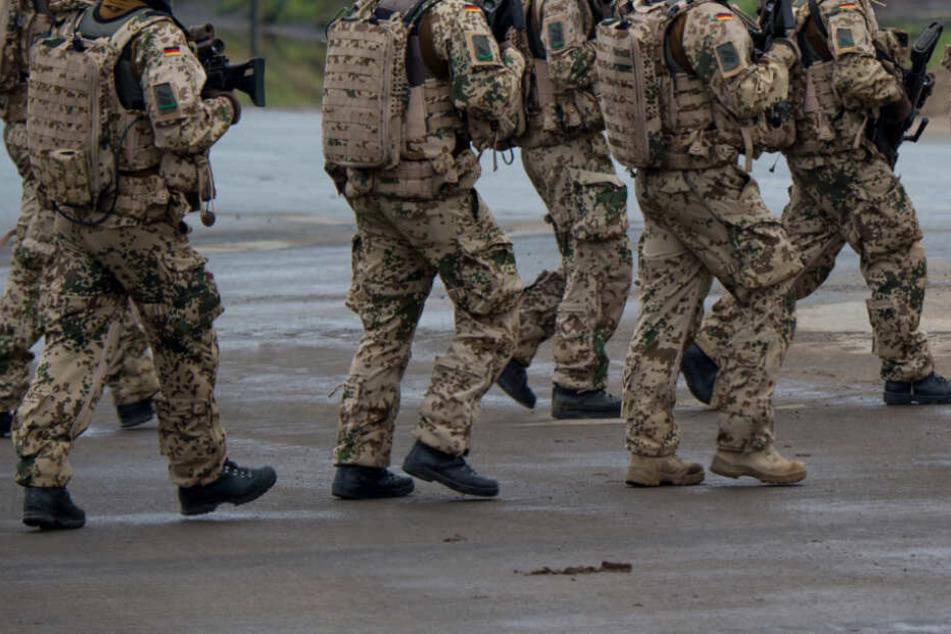 Bundeswehrsoldat Franco A. soll aus einer rechtsextremen Gesinnung heraus Anschläge geplant haben (Symbolfoto).