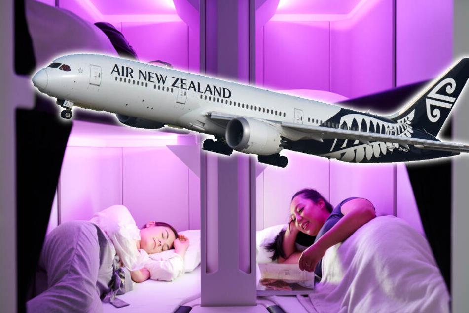 Airline will Schlafkabinen in ihren Fliegern einführen