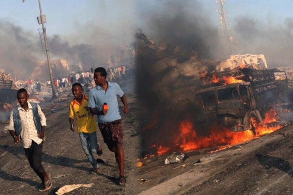 Tanklastwagen explodiert: Mindestens 55 Tote