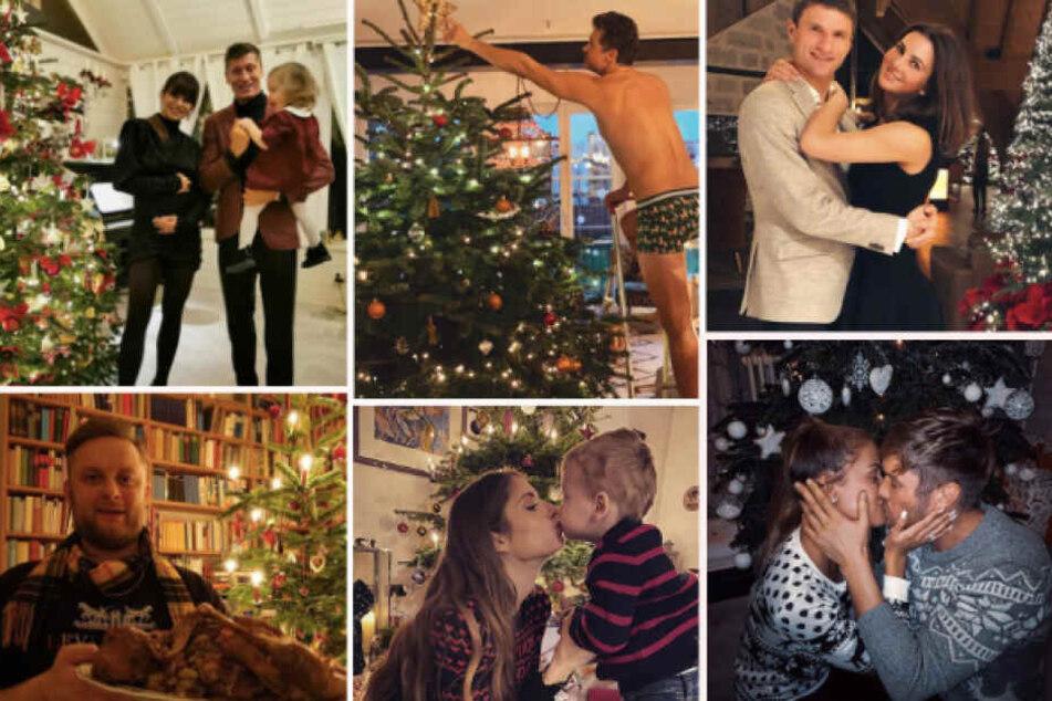 15 Promis unterm Baum: So feiern die Stars Weihnachten