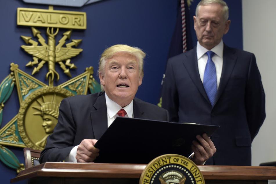 Die USA hatten harte Sanktionen nach dem Atomtest angekündigt, nun wollen sie Nordkorea mit einem Öl-EMbargo belegen.