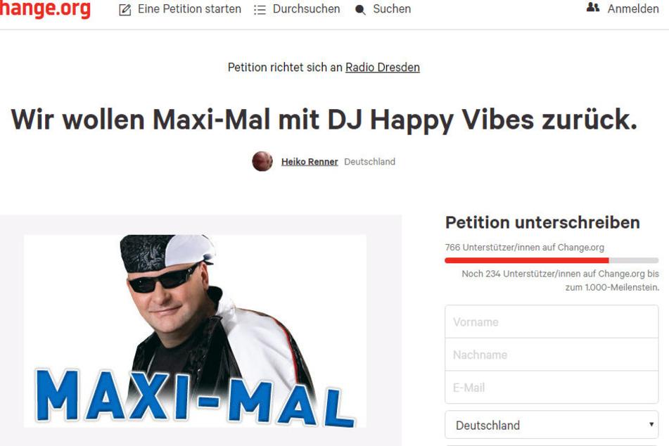 """Über 700 Unterschriften PRO Andreas Hofmann (50) alias DJ Happy Vibes innerhalb weniger Minuten machen deutlich, was die Radio-Dresden-Hörer vom """"Sendungs-Aus"""" halten."""