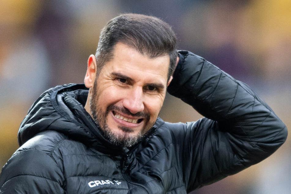 Unter Vorgänger Cristian Fiel gab es oft Lob für Dresden vom Gegner, doch 2019/20 nur selten Punkte.