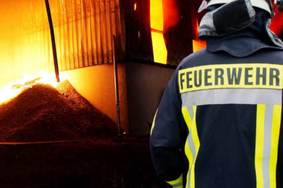 Bei dem Brand ist ein Mann gestorben, (Symbolbild)