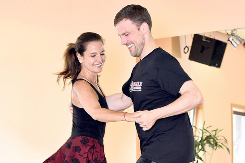 """Bei der ersten Ausgabe von """"Star Dance"""" trat Katrin Huß zusammen mit Heiko  Thurau an."""
