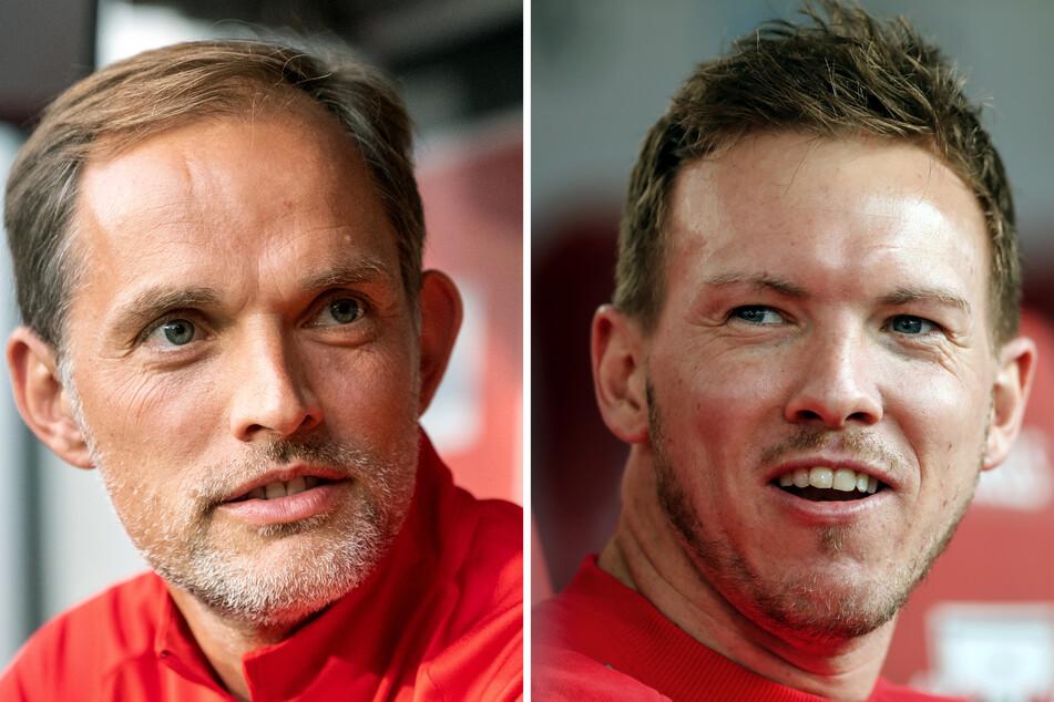 Duell zweier Deutscher Trainer: Thomas Tuchel und Julian Nagelsmann verbindet eine gemeinsame Vergangenheit.