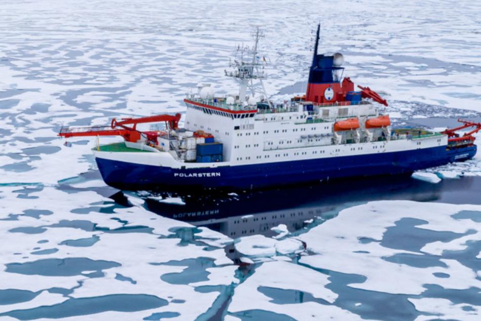 """Arktis-Expedition: """"Polarstern"""" setzt nach einem Jahr Kurs Richtung Heimathafen"""