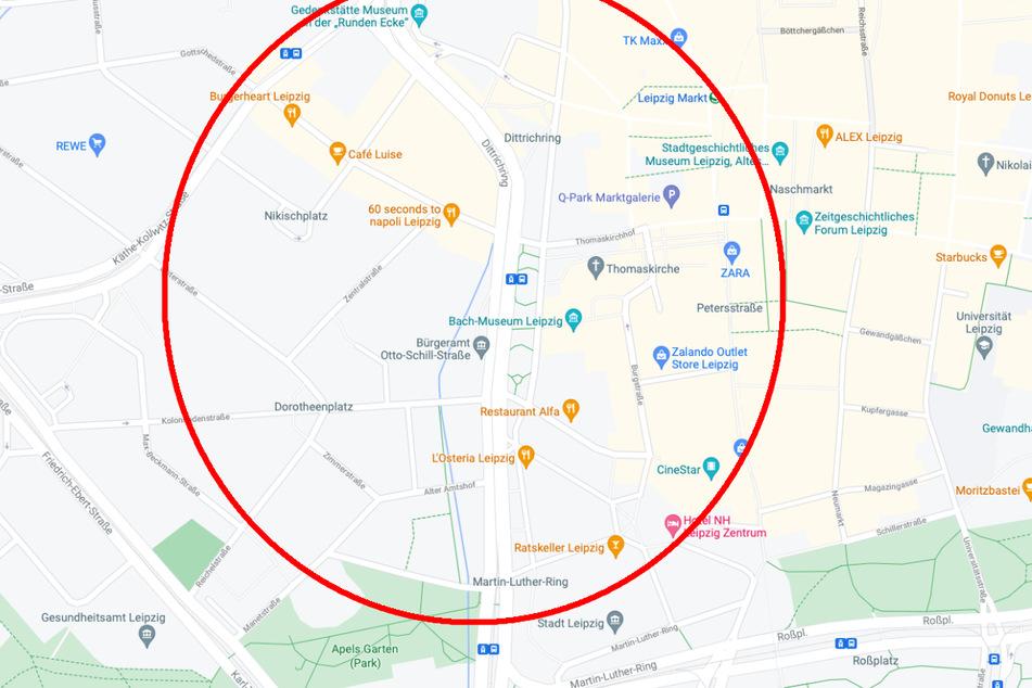 Zwischen Gottschedstraße und Rudolphstraße in südlicher sowie zwischen Lotter Straße und Runder Ecke in nördlicher Richtung sollen die Radspuren künftig verlaufen.