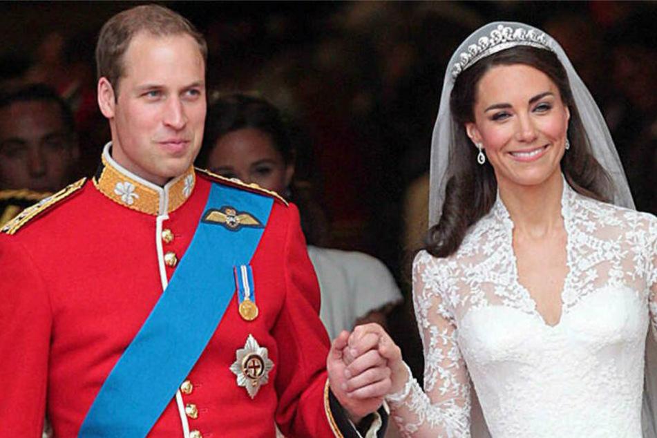 So innig und verliebt! William und Kate teilen zum Hochzeitstag romantische Fotos