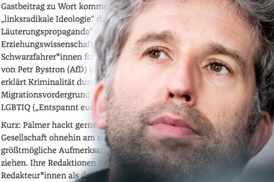 """Nach Leserbrief: Boris Palmer wehrt sich gegen """"linke Spießer"""""""