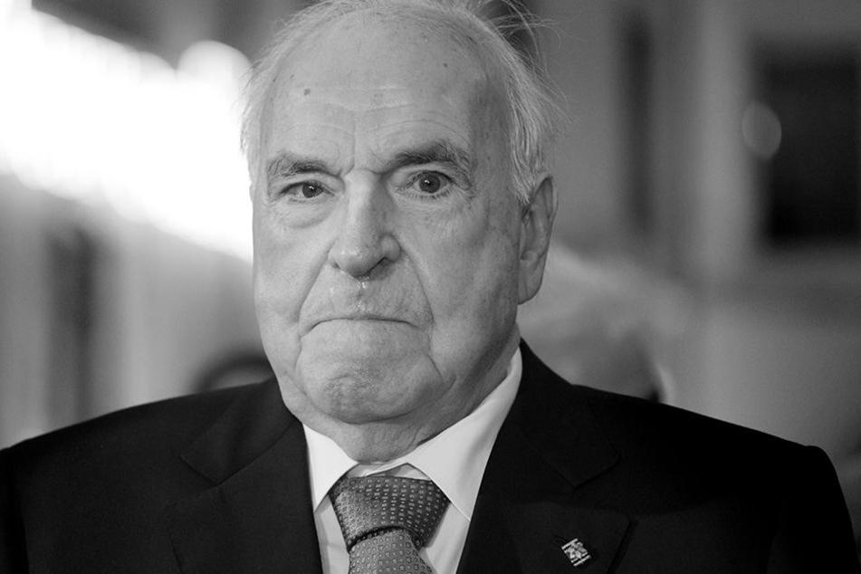 Altkanzler Helmut Kohl ist tot!