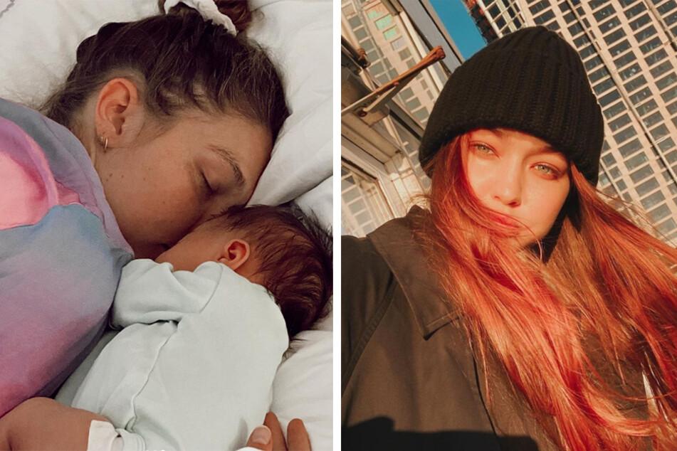 "Mama bear mode: Gigi Hadid sends plea to ""dramatic papparazzi frenzies"""