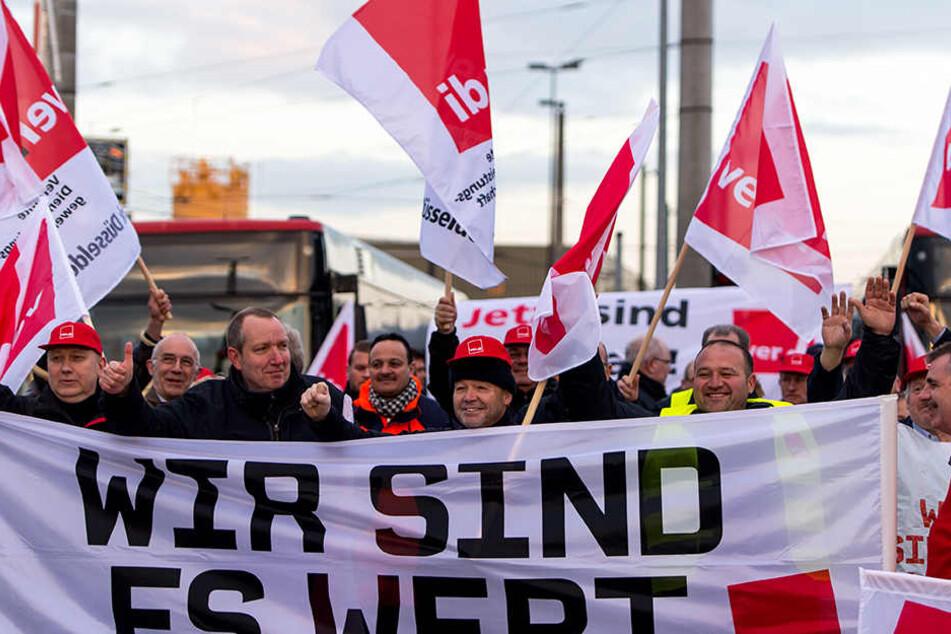 In NRW kann es zu Arbeitsniederlegungen kommen.