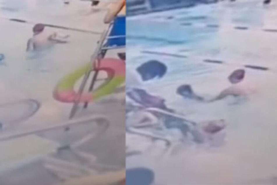 Junge (8) weint bitterlich, als Mutter ihn vom Schwimmunterricht abholt, dann sieht sie das Überwachungsvideo