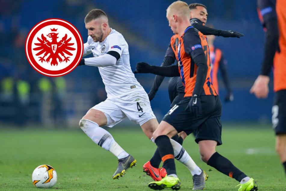 Packendes Spiel in Charkiw: Eintracht spielt Remis gegen Donezk
