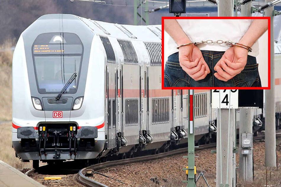 Aus dem Zug wurde der 29-jährige direkt ins Gefängnis Halle verfrachtet. (Symbolbild)