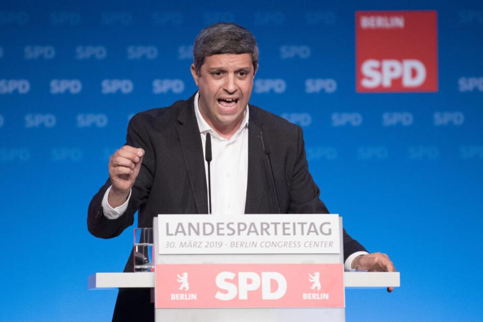 Read Saleh ist Fraktionsvorsitzender der SPD.