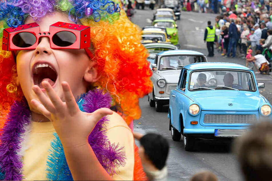 Von Bürgerfest bis Trabi-Treffen: Acht Tipps für einen tollen Samstag