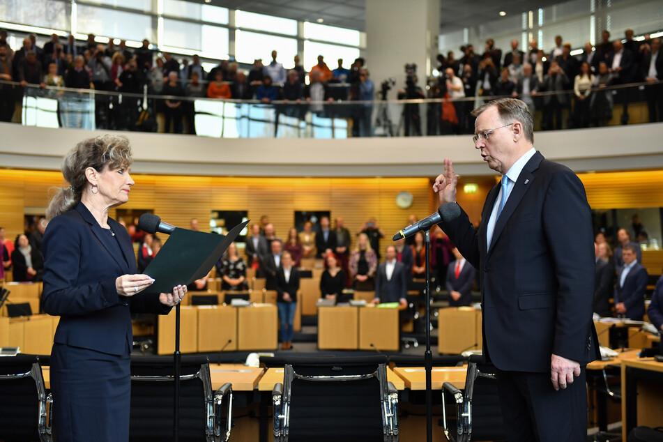 Im dritten Wahlgang: Bodo Ramelow ist wieder Thüringens Ministerpräsident