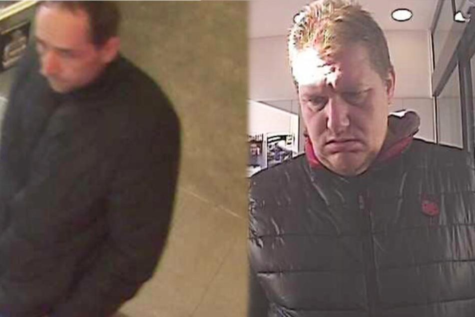 Mit gefälschtem Perso Geld abgehoben: Wer kennt diese beiden Betrüger?