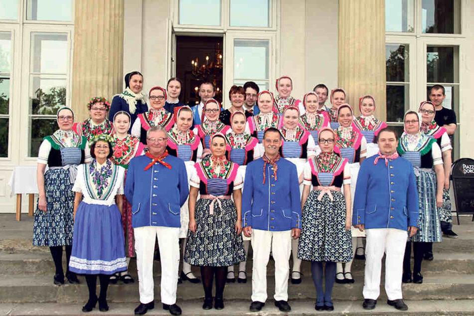 Sorgen bei den Sorben! Tag der Sachsen sperrt Folklore-Gruppe aus
