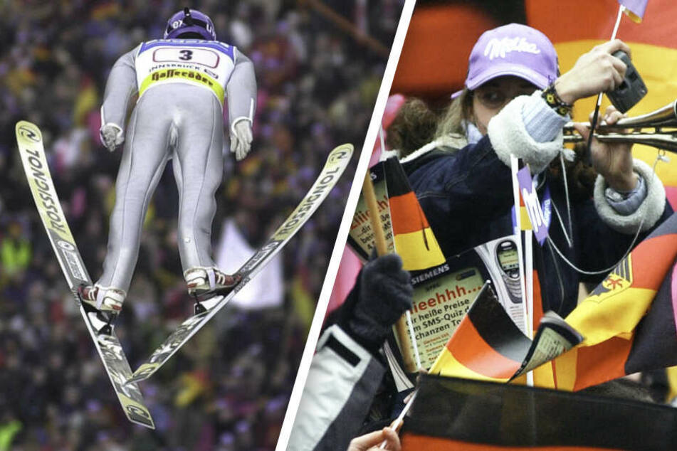 Großer Mythos Vierschanzentournee: Wenn Skisprung-Fans sogar Windeln tragen
