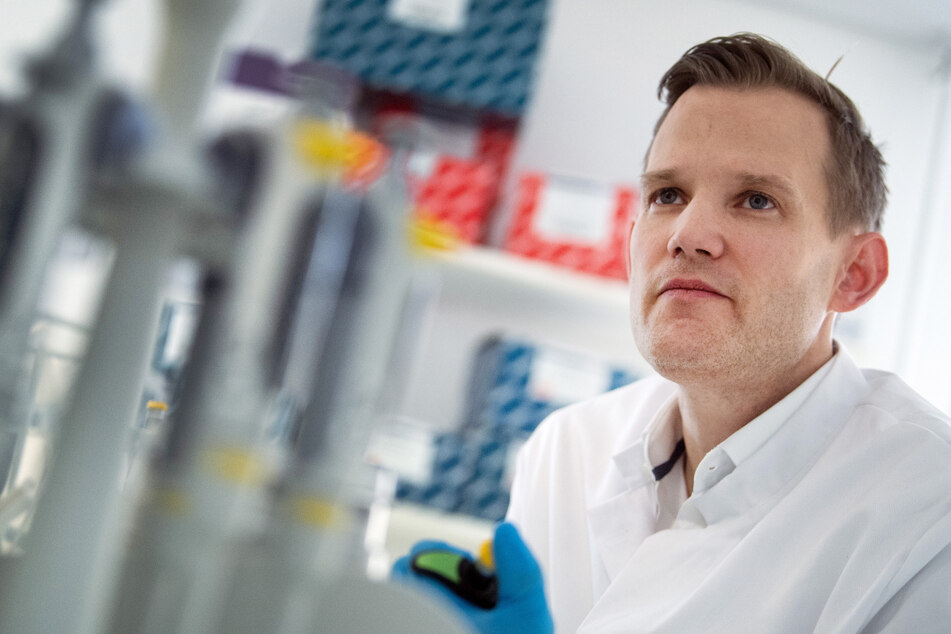 Der Bonner Virologe Hendrik Streeck (42). (Archivbild)