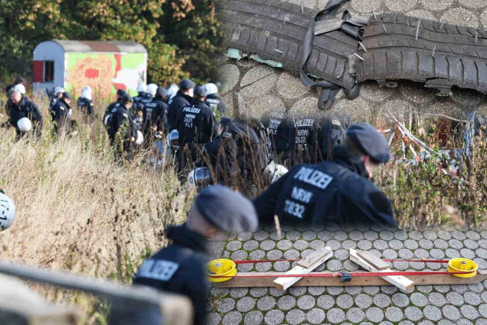 Protestcamp im Hambacher Forst: Diese Waffen fand die Polizei