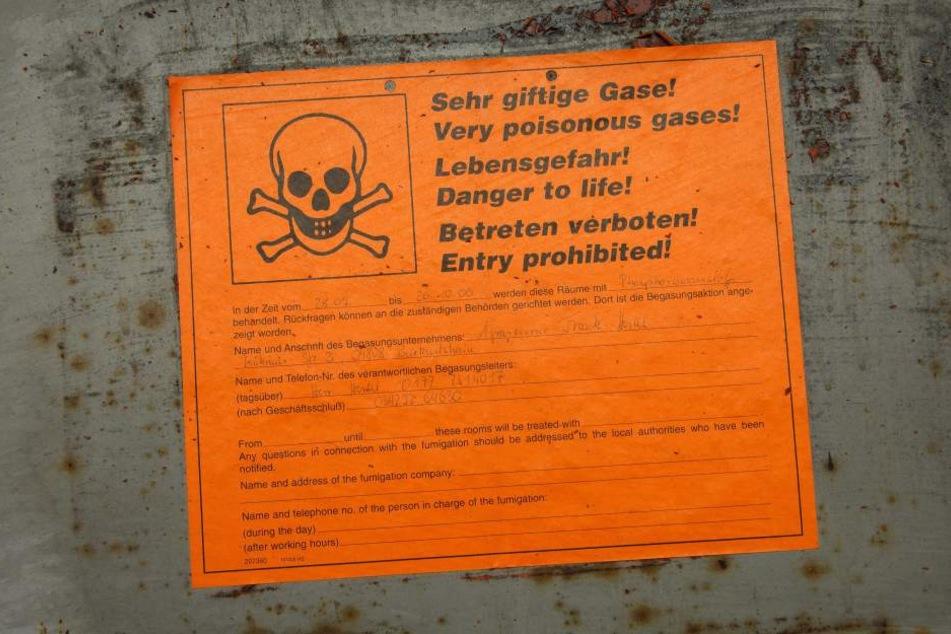 Acht Menschen erlitten eine Gasvergiftung. (Symbolbild)