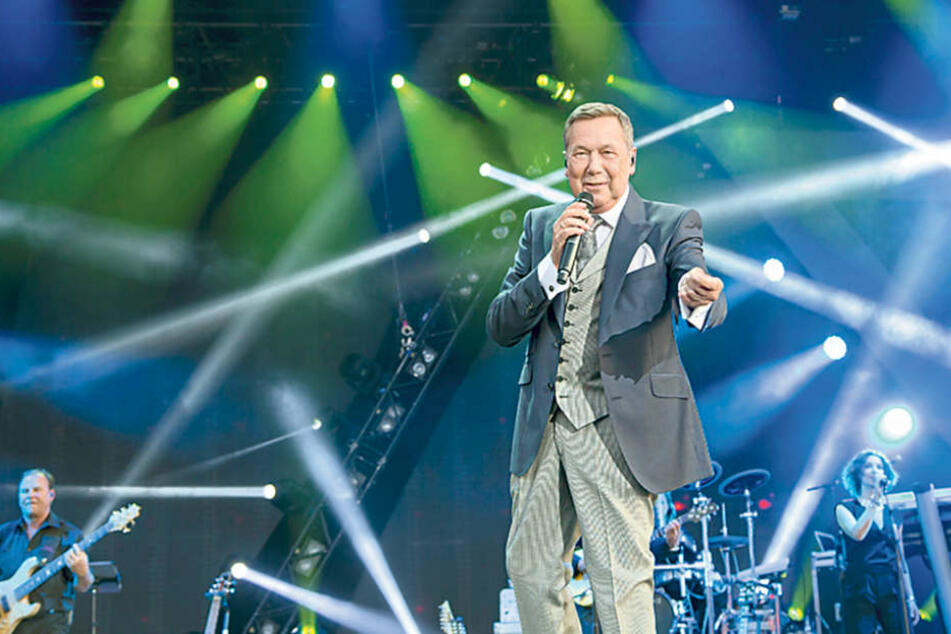 Roland Kaiser (60) sing vier Mal bei den Filmnächten. Alle Konzerte sind  ausverkauft.
