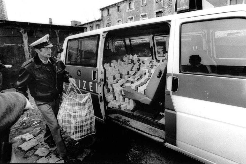 Die Polizei beschlagnahmte immer wieder Schmuggel-Zigaretten der Vietnamesen-Mafia.