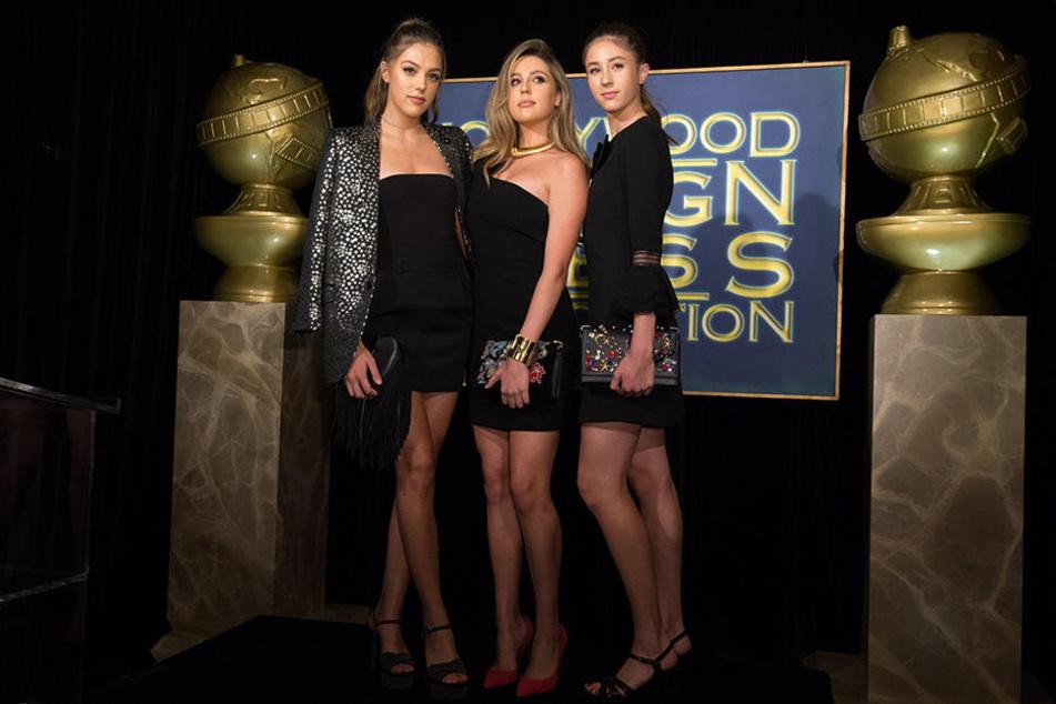 Sistine, Sophia und Scarlet sehen bezaubernd aus.