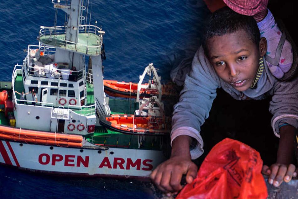 121 Flüchtlinge an Bord: Nächstes Rettungsschiff darf nicht anlegen