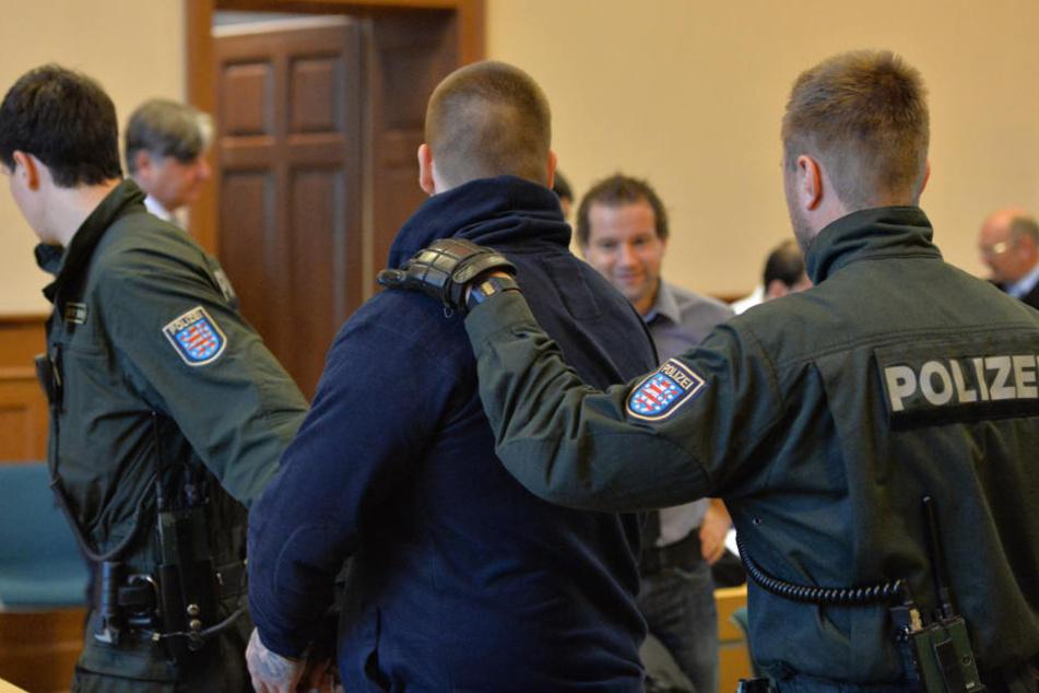 """Bereits im Oktober 2013 gab es in Erfurt einen Prozess gegen Mitglieder der Straßengang """"Saat des Bösen""""."""