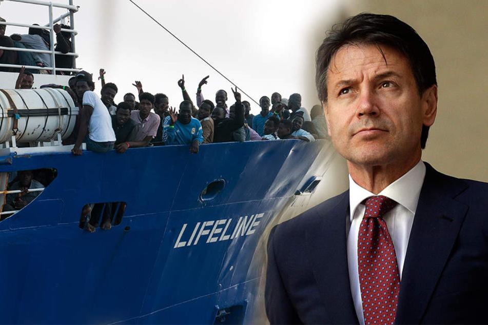 """Rettungsschiff """"Lifeline"""" aus Dresden darf in Malta anlegen"""
