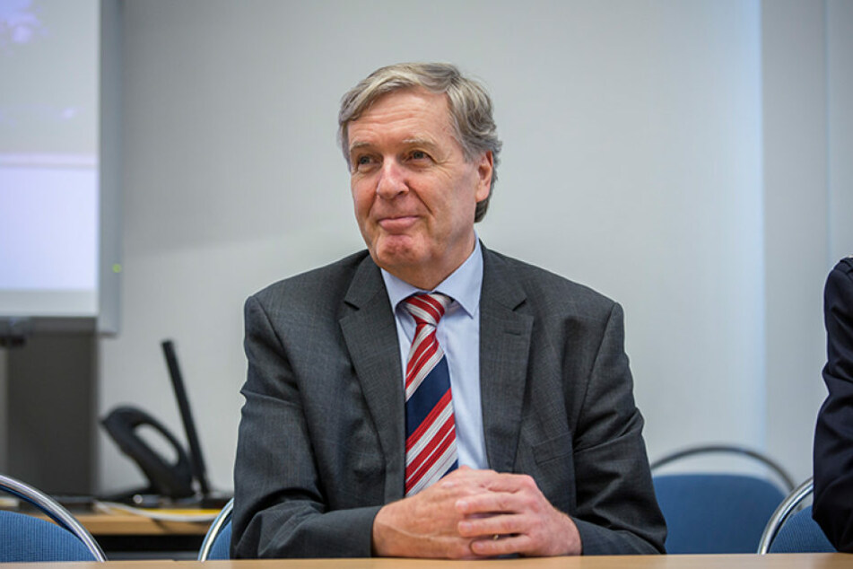 Dresdens Schlossbaumeister Ludwig Coulin (66) ist im Ruhestand.