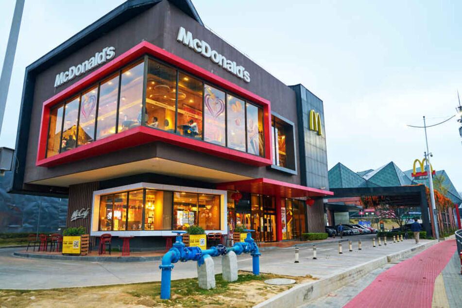 Ein großes McDonald's-Restaurant (Symbolbild).