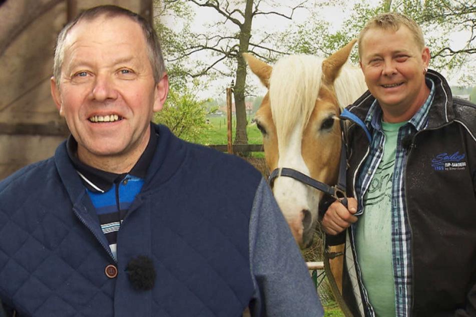 Der herzliche Hesse Klaus und der fleißige Pferdekutscher Herbert.