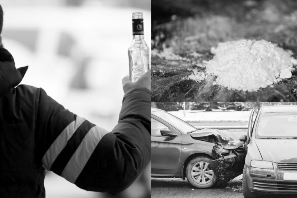 Alkohol und Kokain im Blut: Unfallfahrer erhält Bewährungsstrafe