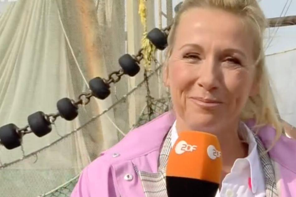 ZDF-Fernsehgarten-Moderatorin Andrea Kiewel.