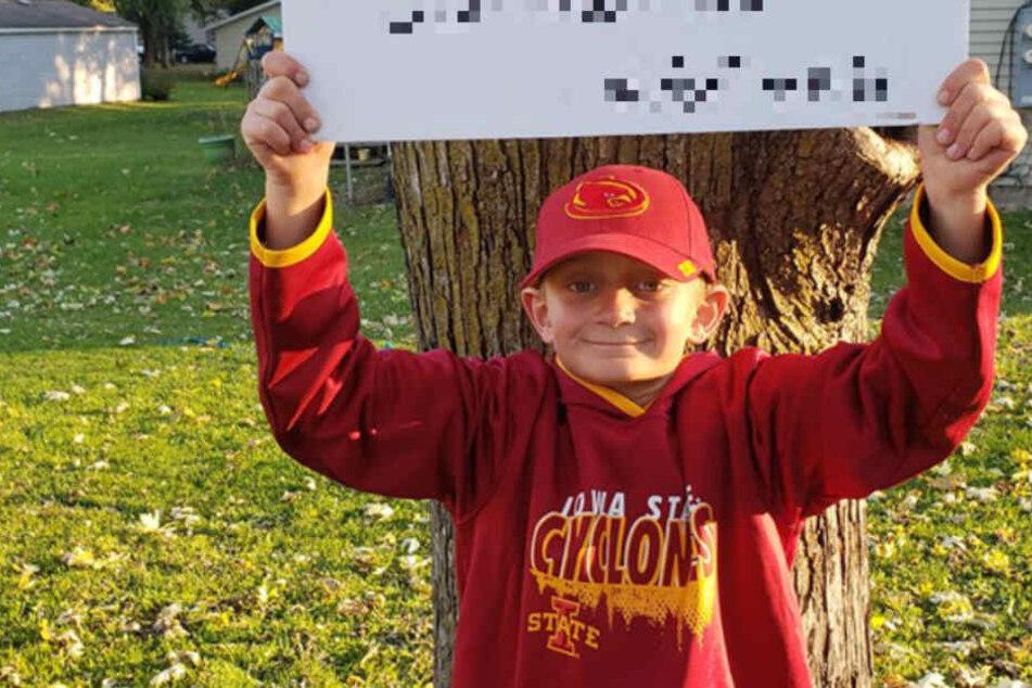 Junge geht gar nicht gruselig an Halloween: Sein Grund macht stolz!